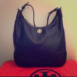 TORY BURCH BAG - black leather