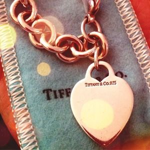 Tiffany & Co. heart tag bracelet -  authentic