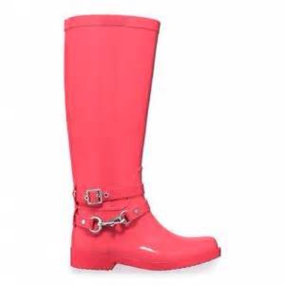 Coach Shoes - Coach rain boots !