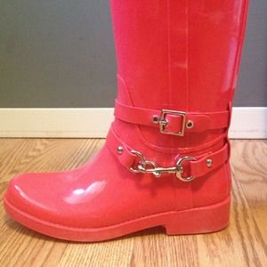 Coach Shoes - Coach rain boots ! 3