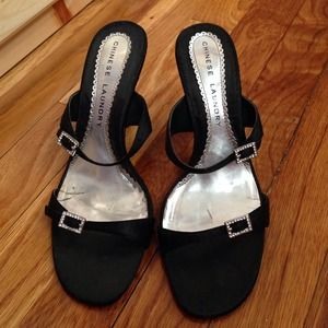 Chinese Laundry black dress heels