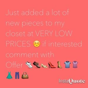 Dresses & Skirts - New pieces 😊