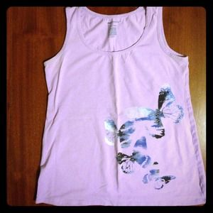 Gap Maternity butterfly tank