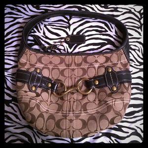 ⛔️REDUCED⛔️Authentic Black leather Coach handbag