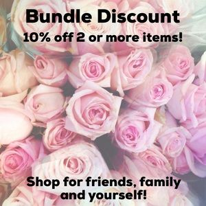 10% discount off bundles!