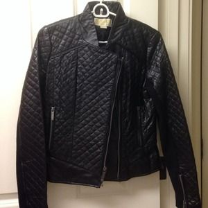 MICHAEL Michael Kors Jackets & Blazers - Michael Kors Quilted Leather Jacket