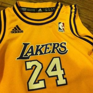 14908e27704 Adidas Accessories - 12 months Adidas Baby lakers jersey KOBE like new!