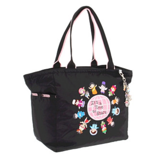 52a0bae555b LeSportsac Disney Small World Tote