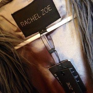 Ombre Faux Fur Coat Size 0