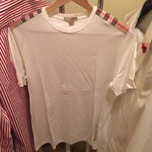 A Burberry Brit Classic tee shirt