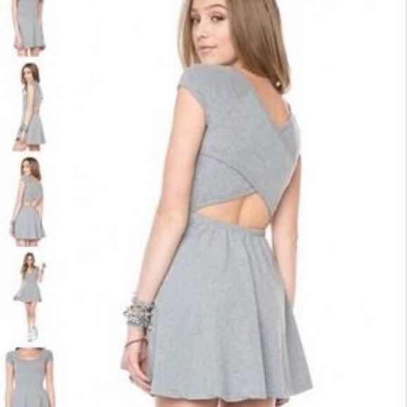 85219d204b9e Brandy Melville Dresses   Skirts - Gray Brandy Melville T-Shirt Dress