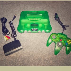 🚫SOLD!! Rare jungle green N64!🚫