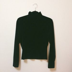 Vintage | Emerald Turtleneck