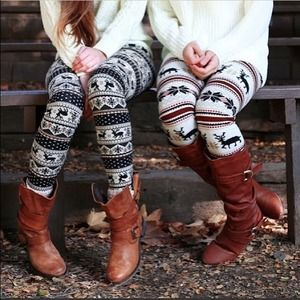 Super cute and warm fleece fur leggings❤️