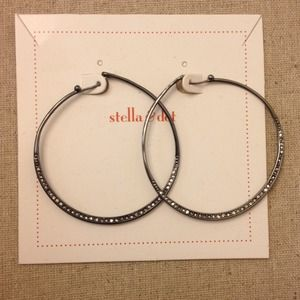 Stella & Dot hoops