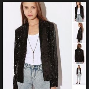 silence and noise Jackets & Blazers - Sequins blazer