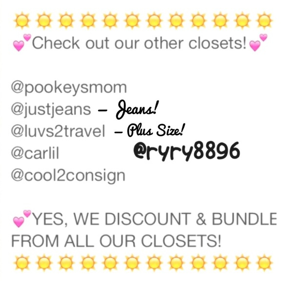 Bags - Bundle & save from 6 closets! Discounts