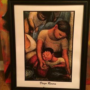 Diego Rivera Print
