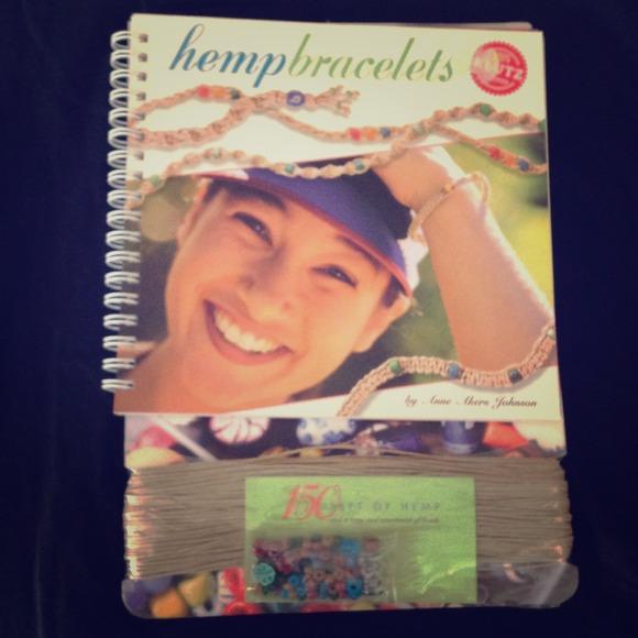 KLUTZ Other | Hemp Bracelet Kit Spiralbound Idea Cards | Poshmark