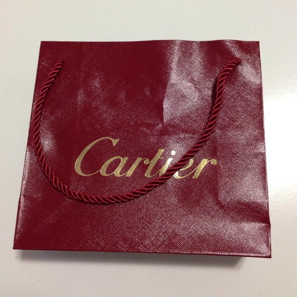 Cartier Jewelry Small Paper Shopping Gift Bag Poshmark