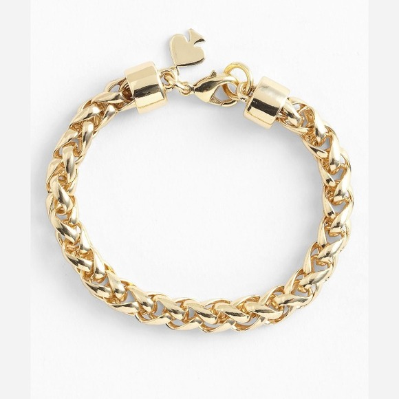 "kate spade Jewelry - Kate Spade""Learn the Ropes""link bracelet❌Reserved"