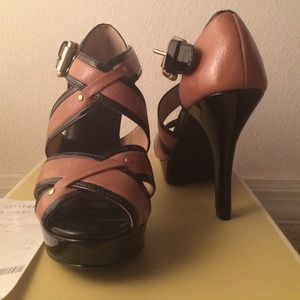 Authentic Michael Kors platform heels.