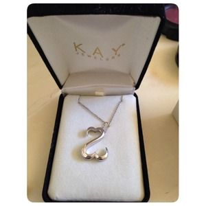 Jewelry - Kay Jewelers Open Heart Necklace