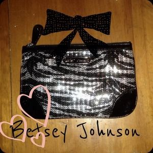 Betsey Johnson Handbags - Betsey Johnson clutch