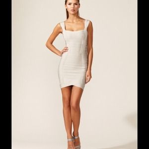 Herve Leger dress $1250 xs.