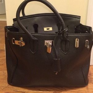 how much does a hermes birkin bag cost - 21% off Handbags - Hermes Birkin inspired handbag from Gianna's ...