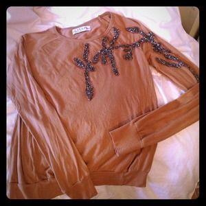 Zara Embroidered Top - Size Medium