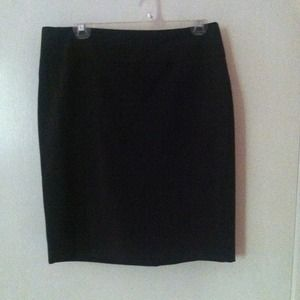 Black Express suit skirt