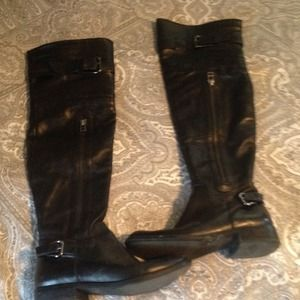 Steve Madden Boots - Well loved Steve Madden over the knee