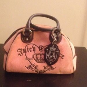 Pink juicy couture bowler