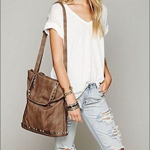 ❤️SOLD❤️Free People Studded Tote