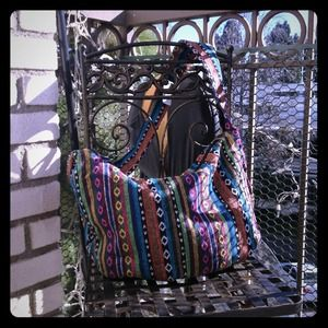 Handbags - Large tribal boho handbag💕