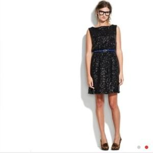Like new Madewell all black sequin dress! Size 2
