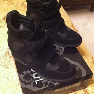 Cute Wedge Sneakers