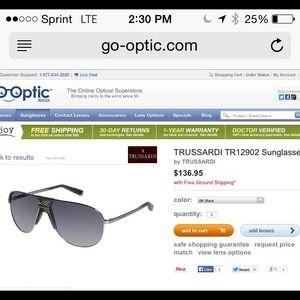 Tru Trussardi Accessories - Brown, Navigator Sunglasses from TRUSSARDI