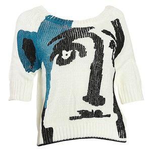 Celebrity Women Half Sleeve Sweater