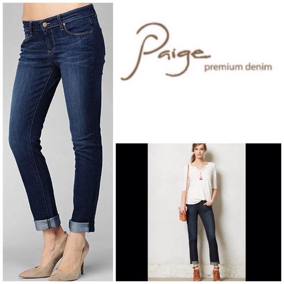 631f89a195213 PAIGE Jeans | Jimmy Skinny Boyfriend Nwt | Poshmark