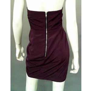 836b0fce9d Naven Dresses - Naven Bombshell 100% Silk Dark Purple Dress