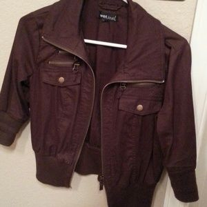 Jackets & Blazers - Wet seal 3/4 jacket.