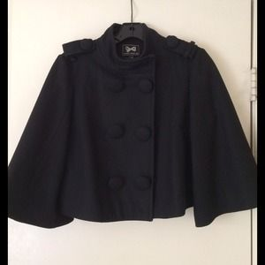 Forever 21 crop high collar jacket