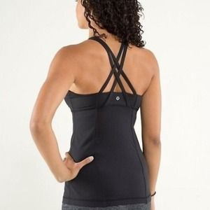 MIDNIGHT IRIS LULULEMON ENERGY TANK
