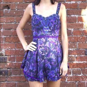 Free People 'Sweet Summer' Purple Dress