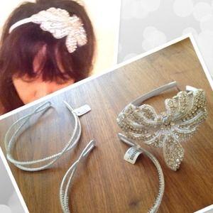 1 Rhinestone Butterfly Headband