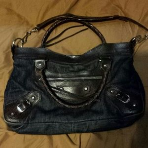 Denim Balenciaga Bag
