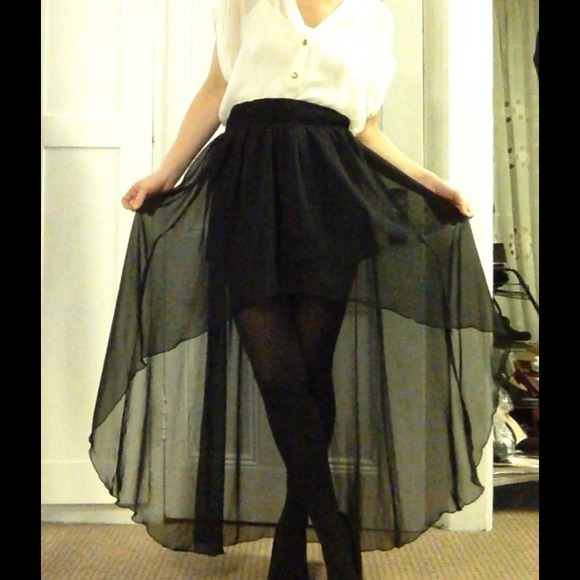 Find great deals on eBay for sheer high low skirt. Shop with confidence.