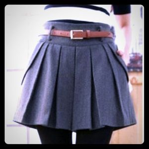 Looking for a pleated gray skirt like this one